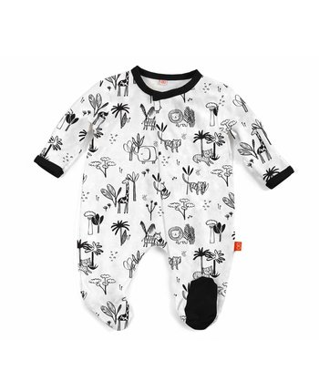 Magnifcent Baby Animal Safari Modal Magnetic Footie