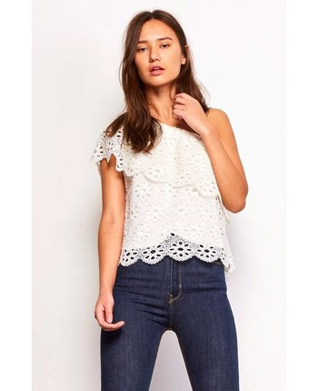Jack by BBD Lolita Eyelet Top