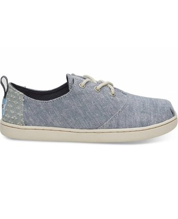 TOMS Youth Lumin Chambray Sneaker
