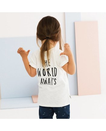 Miles Baby Graphic Baby Knit T-Shirt