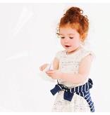 Miles Baby Baby Girls Knit Dress