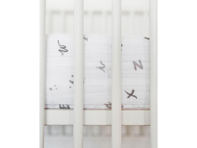Little Unicorn Cotton Muslin Crib Sheet
