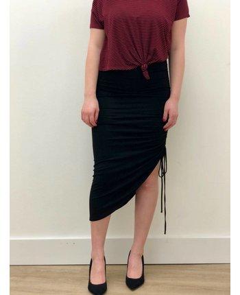 Jersey Drawstring Skirt