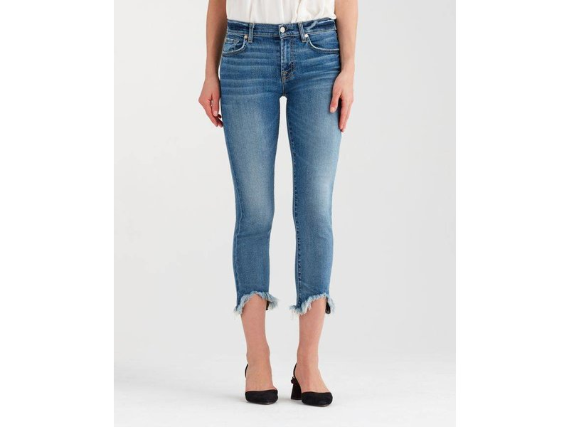 7 For All Mankind Roxanne Ankle w/Wave Hem in CNYR