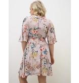 Bell Sleeve Floral Dress