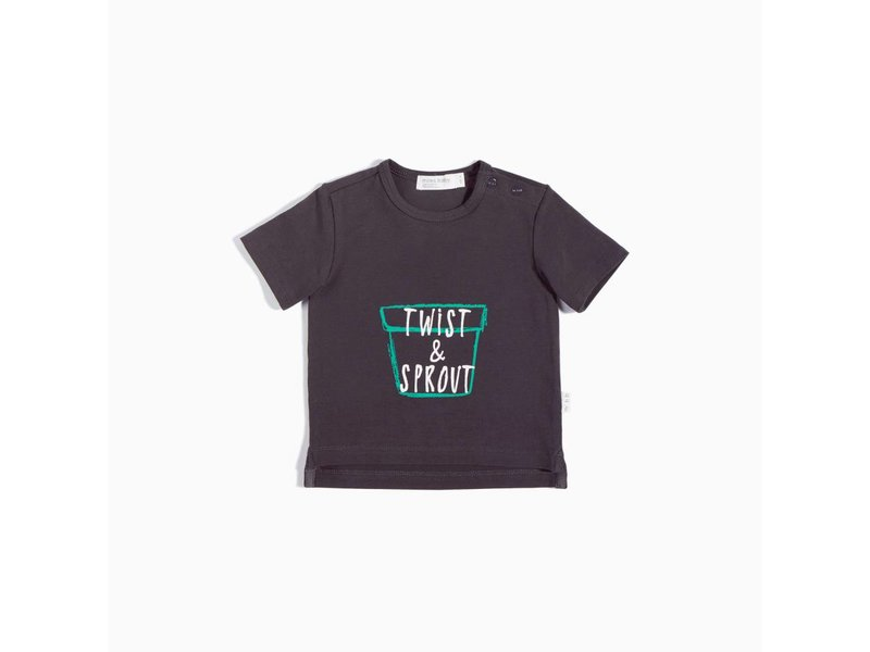 Miles Baby Twist and Sprout Tee