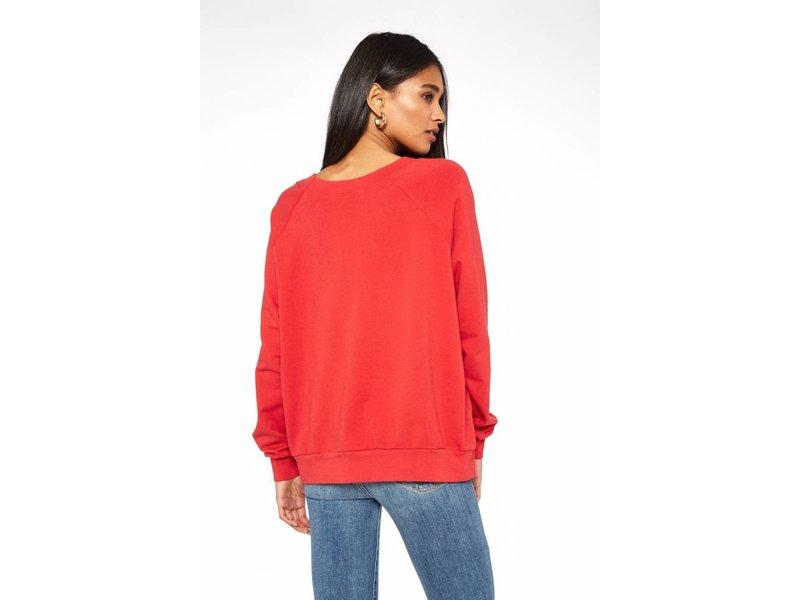 America Embroidered Sweatshirt
