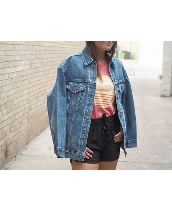 Levi's Bust a Move Trucker Denim Jacket