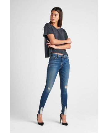 Hudson Barbara High Waist Skinny in Lockdown