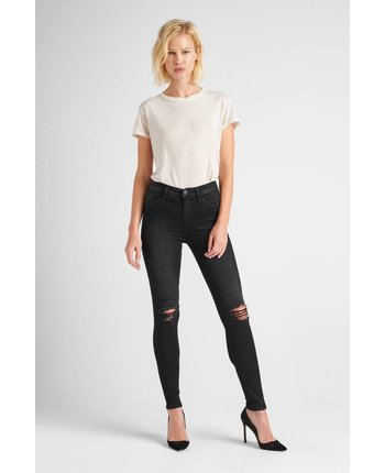 Hudson Barbara High Waist Skinny in Westbound
