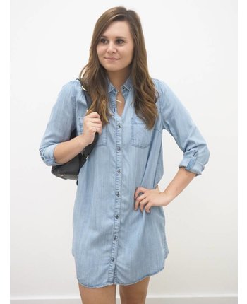 Collared Button Down Dress