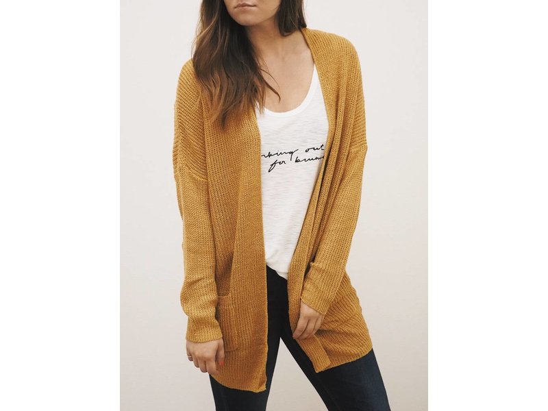 Back Braid Cardigan