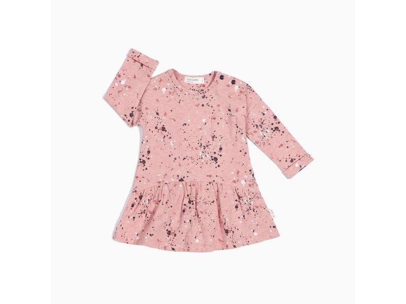 Miles Baby Splatter Print Dress