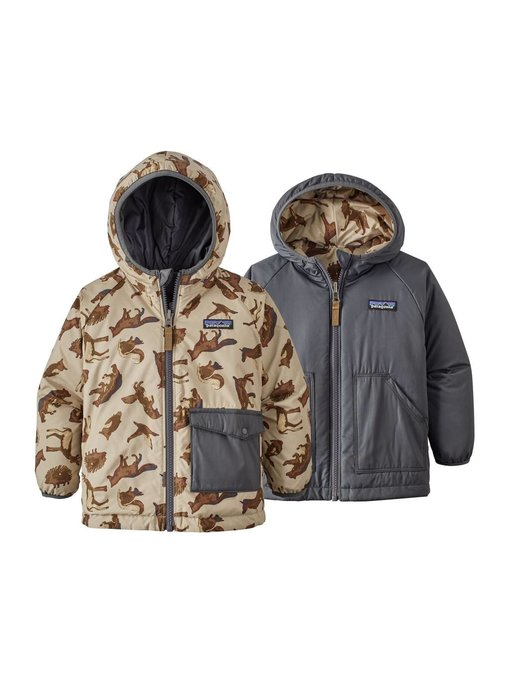 Patagonia Baby Reversible Puff-Ball Jkt ( More Colors)