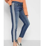 7 For All Mankind The Ankle Skinny w/ Side Panel