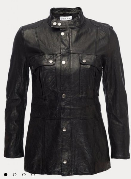 FRAME Vintage Leather Jacket
