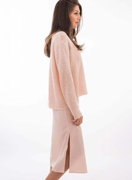 TSALT Lucie Sweater Blush M/L