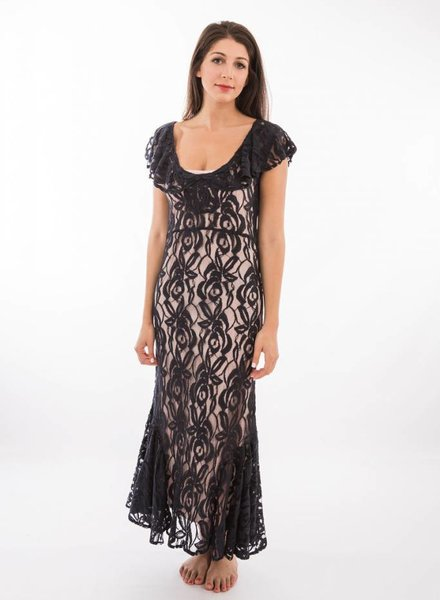 TSALT Lace Dress Blue S