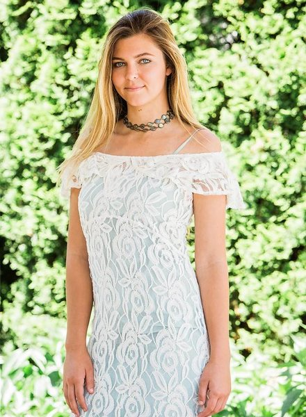 TSALT Lace Dress Ivory L