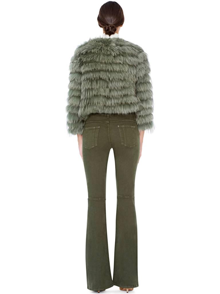 ALICE & OLIVIA Fawn Fur Jacket