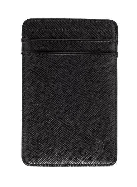 WURKIN STIFFS RFID Leather CC Wallet BLK