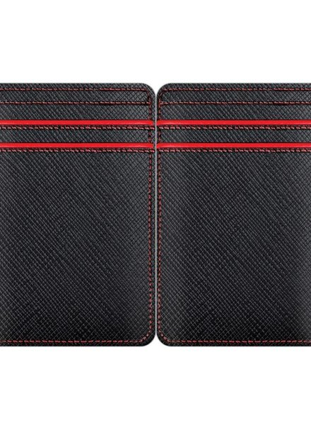 WURKIN STIFFS RFID Leather CC Wallet RED