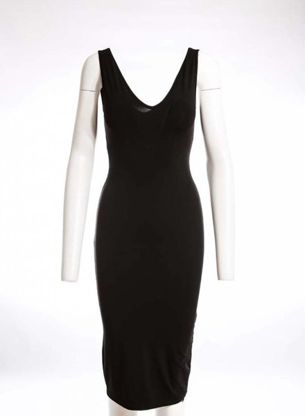 ISABEL DE PEDRO Pencil Dress Double V-Neck
