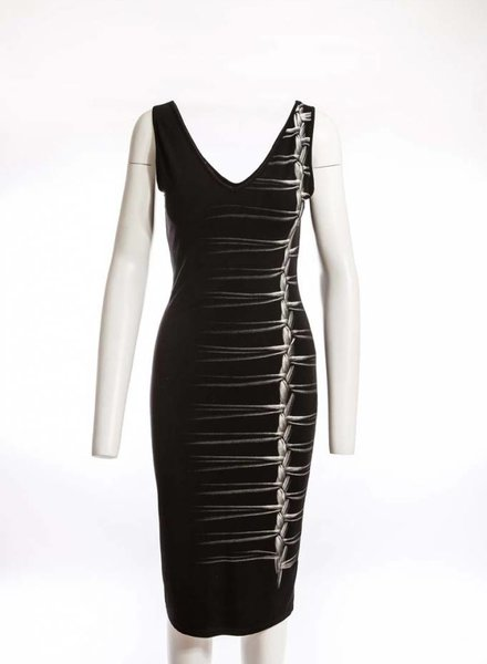 ISABEL DE PEDRO Pencil Dress Braid