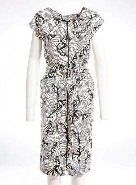 ISABEL DE PEDRO Sleeveless Zipper Dress