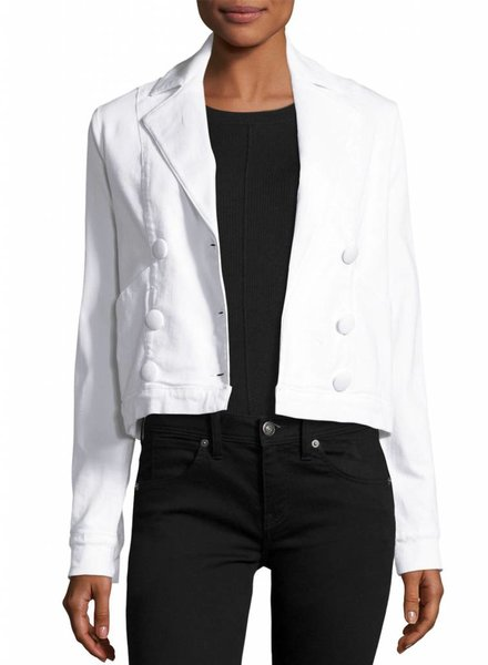 FRAME Le Crop Jacket Button