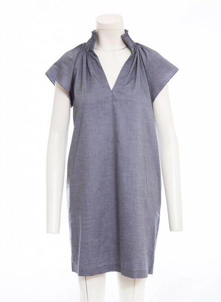 ANDIE KULLY HIGH COLLAR DRESS