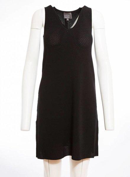LEO & SAGE Pointelle Shift Dress