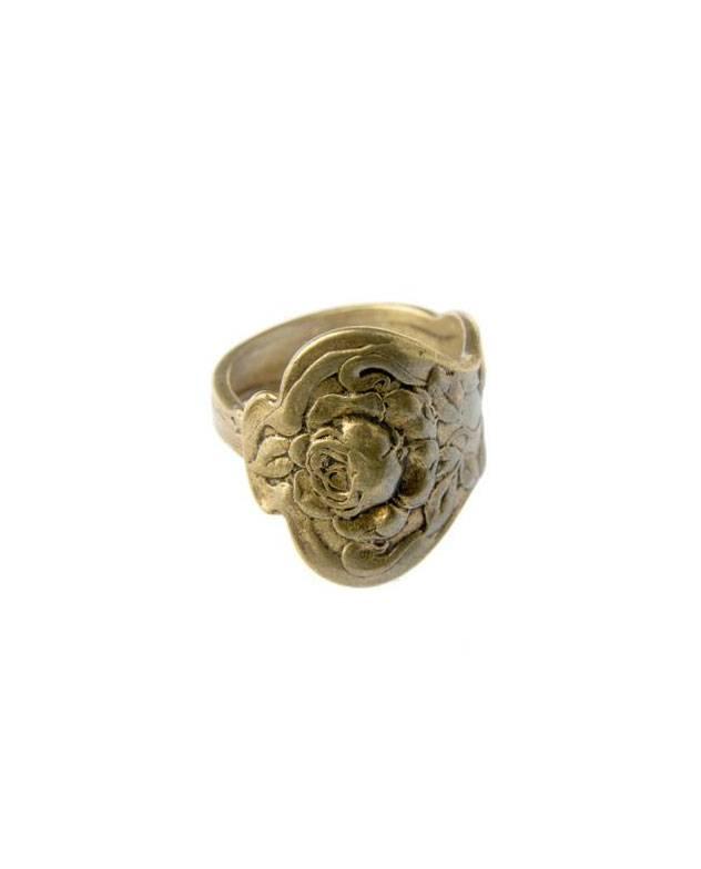 ALKEMIE Victorian Spoon Ring