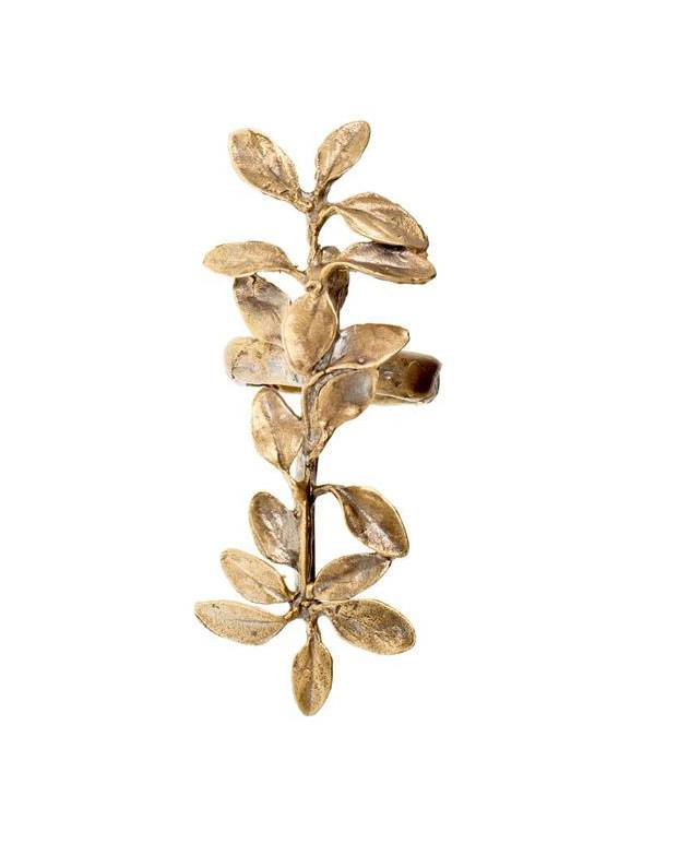 ALKEMIE Long Leaves Ring