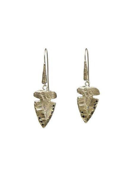 ALKEMIE Arrowhead Earrings