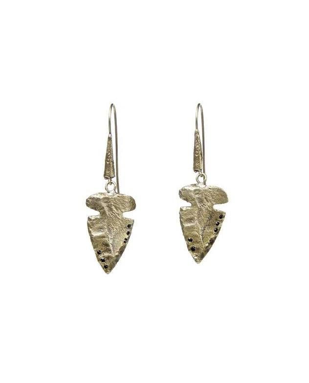 ALKEMIE Arrowhead Earrings