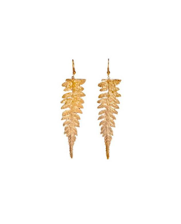 ALKEMIE Long Fern Earrings