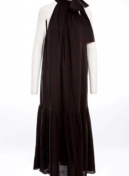 APIECE APART Solazure Tie Neck Dress