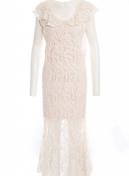 TSALT Lace Dress Ivory S