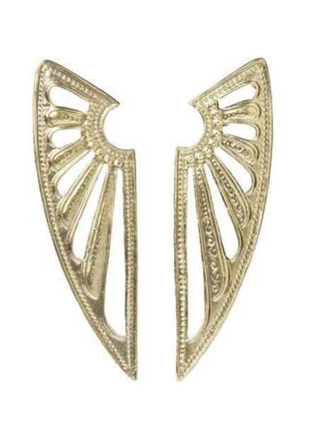ALKEMIE Deco Wing Earrings