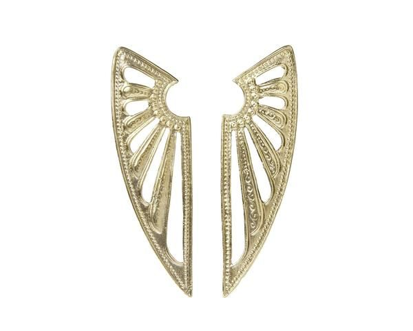 ALKEMIE Deco Wing Earrings