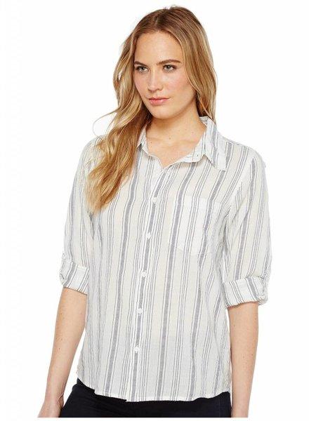 Sea Stripes Roll Sleeve Shirt