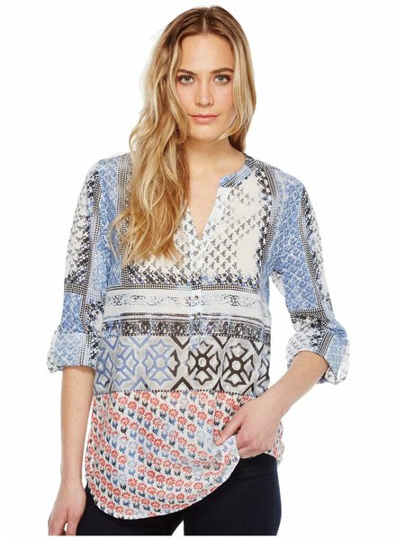 Harlow Block Print Top