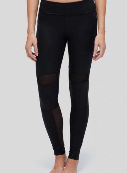 Peony Black Matte Luxe Legging