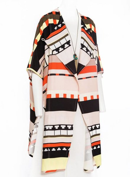 APIECE APART Fatima Wrap Cape