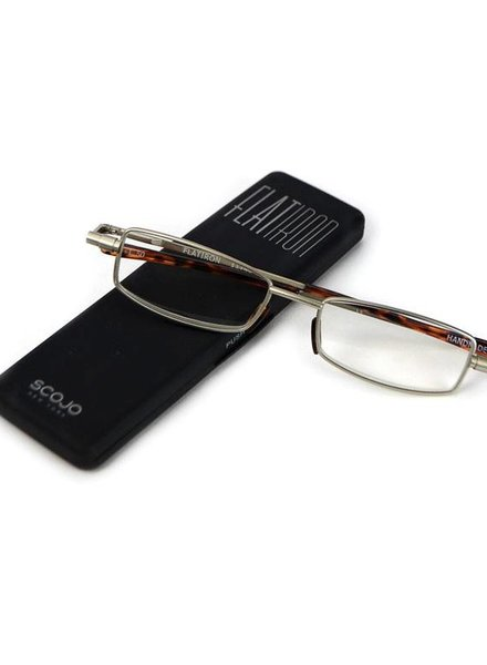 OGI EYEWEAR Flatiron Antique Silver +2.50