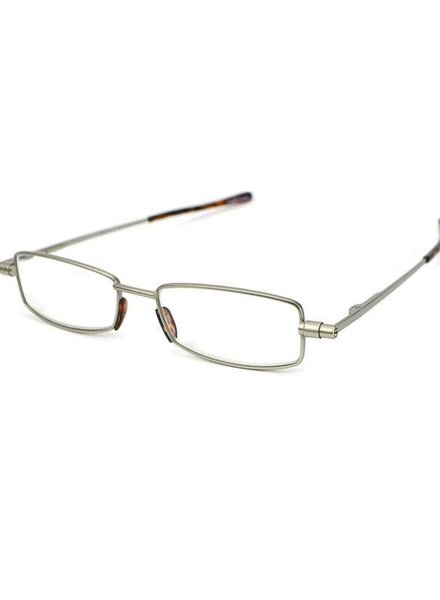OGI EYEWEAR Flatiron Antique Silver +2.00