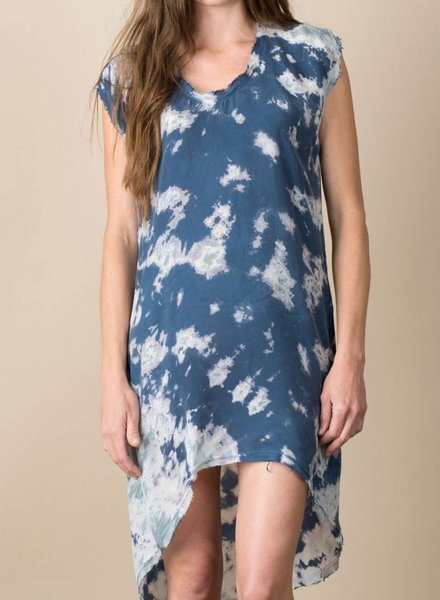 Marble Cocoon Dress
