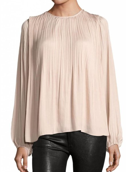 ELIZABETH & JAMES Grove Pleated Top
