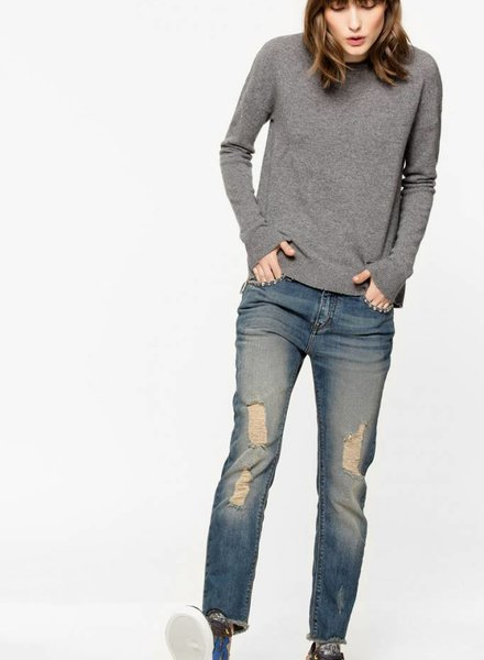 Zadig & Voltaire Cici Star Patch Sweater